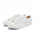 [Bata Bullets] Leather Low Top (White)