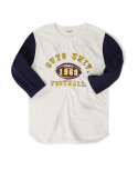 아웃스탠딩(OUTSTANDING) OUTS UNIV THREE-QUARTER TEE[NAVY]