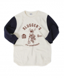 아웃스탠딩(OUTSTANDING) SLUGGERs THREE-QUARTER TEE[NAVY]
