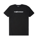 The Hundreds Bar Logo Halftone T-shirt (BLACK)
