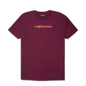 더헌드레드(THE HUNDREDS) The Hundreds Bar Logo Halftone T-shirt (Burgundy)