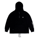 굿펠라즈(GOODFELLAS) Humanity Half-zip Hoodie Black