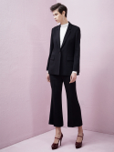 룩캐스트(LOOKAST) BLACK TAILORED SUIT SET