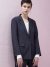 룩캐스트(LOOKAST) NAVY STRIPE TAILORED SUIT JACKET