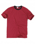 아웃스탠딩(OUTSTANDING) KEEN BORDER TEE[RED]