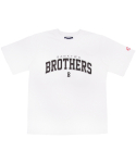 뱅크투브라더스(BANK2BROTHERS) TEAM BTB C.R.E.A.M T-SHIRTS (WHITE)