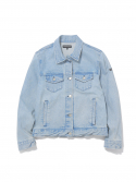 디스이즈네버댓() W Trucker Jacket Light Blue