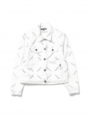 디스이즈네버댓() W Trucker Jacket White