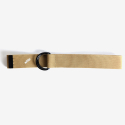 아오(AHOH) D RING BELT BEIGE