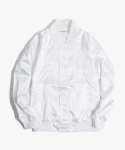해브 어 굿 타임(HAVE A GOOD TIME) Satin Raglan Jacket - White