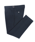 벨리프(BELLIEF) Side adjust Cotton Peach chino (navy)_BPS17217