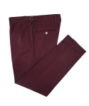 벨리프(BELLIEF) Side adjust Cotton Peach chino (Burgundy)_BPS17218