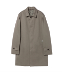 Cottom twill Mac coat (khaki)_BCS17221