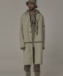 오베르(OVERR) 17S/S BEIGE ZIPPER COAT