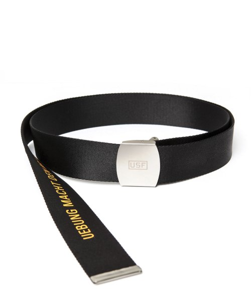 어반스터프(URBANSTOFF) USF LONG WEBBING BELT BLACK