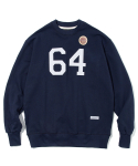 유니폼브릿지() 64s patch sweat shirts navy