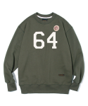 유니폼브릿지() 64s patch sweat shirts khaki