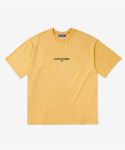 레이어 유니온(LAYER UNION) CP FLOWER S/S TEE MUSTARD