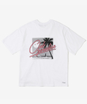 레이어 유니온(LAYER UNION) CP SCRIPT S/S TEE WHITE