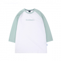 캉골(KANGOL) Text Logo 3/4 Sleeves 6105 Mint