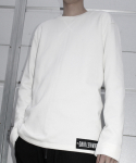 다이르 렌 모드(DAIR LEN MODE) Oversize long sweat shirt (white)