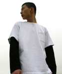 다이르 렌 모드(DAIR LEN MODE) Layered pocket tee (white)