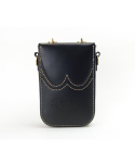 스케르잔도(SCHERZANDO) Brogue Mini Shoulder Bag (No.1) / BLACK