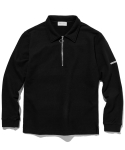 라이풀() HALF ZIP COLLAR SWEATSHIRT black