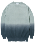 라이풀() GRADATION KNIT SWEATER charcoal