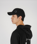 로우 투 로우(RAW TO RAW) side wappen ballcap(black)