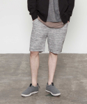 매든(MADN) Bokashi short pants (light gray)