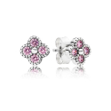 판도라(PANDORA) 290647PCZ PINK ORIENTAL BLOSSOM STUD EARRINGS