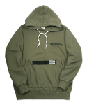 러기드하우스(RUGGED HOUSE) WORKER PATCH HOODIE 카키