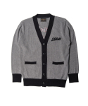 니들워크() Lets Roll knit cardigan heather gray