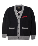 니들워크() Lets Roll knit cardigan black
