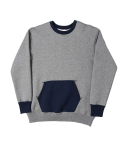 니들워크(NEEDLE WORK) 50s IVY sweatshirts(heather gray)