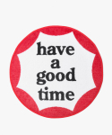 해브 어 굿 타임(HAVE A GOOD TIME) Circle Logo Rug