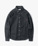 해브 어 굿 타임(HAVE A GOOD TIME) Denim Shirt - Black Denim