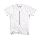 블랙스케일(BLACK SCALE) BLACKSCALE Crossed T-Shirt White