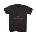 블랙스케일(BLACK SCALE) BLACKSCALE Crossed T-Shirt BLACK