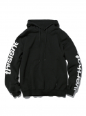 디스이즈네버댓() H-SP-Logo Hooded Sweatshirt Black
