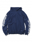 디스이즈네버댓() H-SP-Logo Hooded Sweatshirt Navy