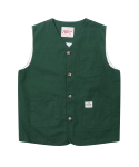 러기드하우스(RUGGED HOUSE) WORK POCKET VEST 그린