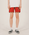 위캔더스(WKNDRS) WENDY SWEAT SHORTS (RED)