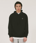 위캔더스(WKNDRS) W LOGO NYLON HOODED SWEAT (BLACK)