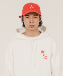 위캔더스(WKNDRS) 3 HEARTS CAP (RED)