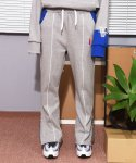 앳 더 모먼트(AT THE MOMENT) [UNISEX] Piping Sweatpants (GRAY)