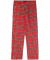 Larrikins Slim Slacks - Red