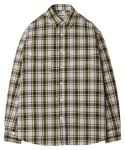 모디파이드() M#1254 window check shirt (yellow)