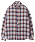 모디파이드() M#1251 multi plaid check shirt (pink)
